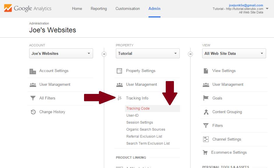 Google-Analytics-bestaand-account-bestaande-website