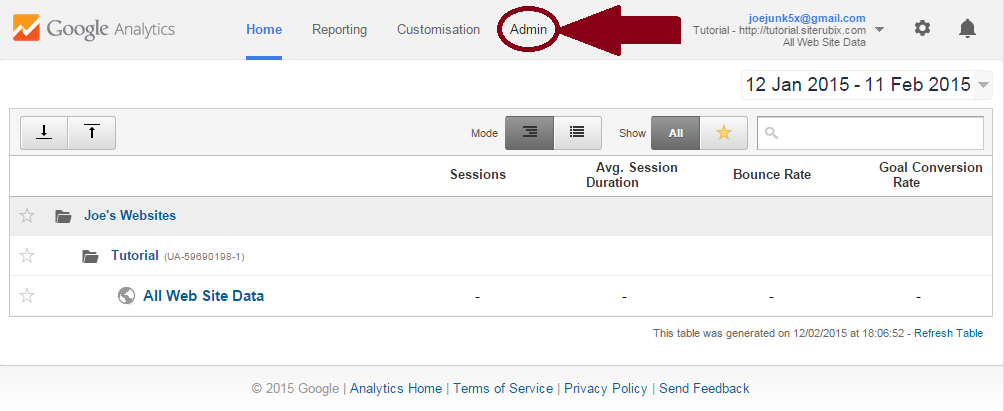 Google-Analytics-bestaand-account-nieuwe-website