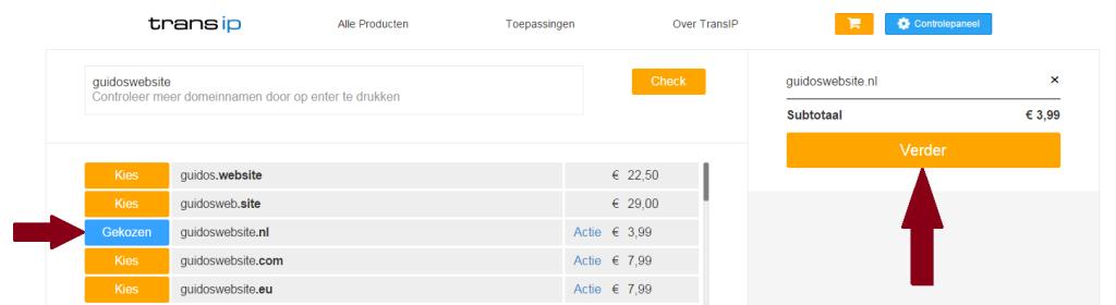 TransIP-domeinnaam-beschikbaarheid-check