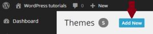 WordPress-thema-installeren-add-new
