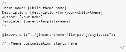 child-theme-css-code