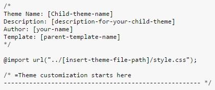child-theme-css-code