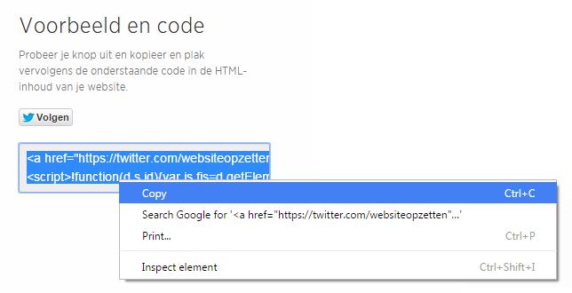 twitter-knop-code-kopieren