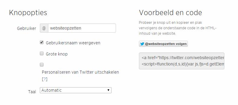 twitter-knopopties-voorbeeld-code