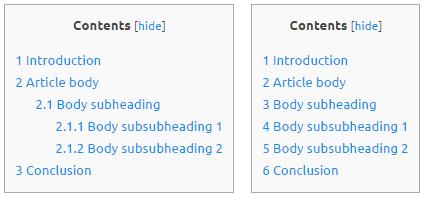 Table-of-contents-plus-hierarchie