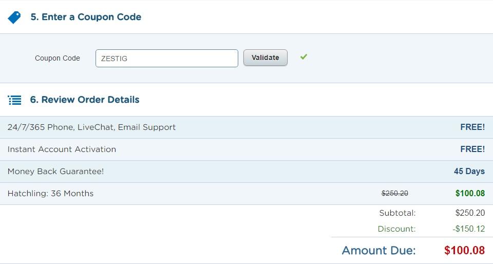 "60% korting - couponcode ""ZESTIG"""