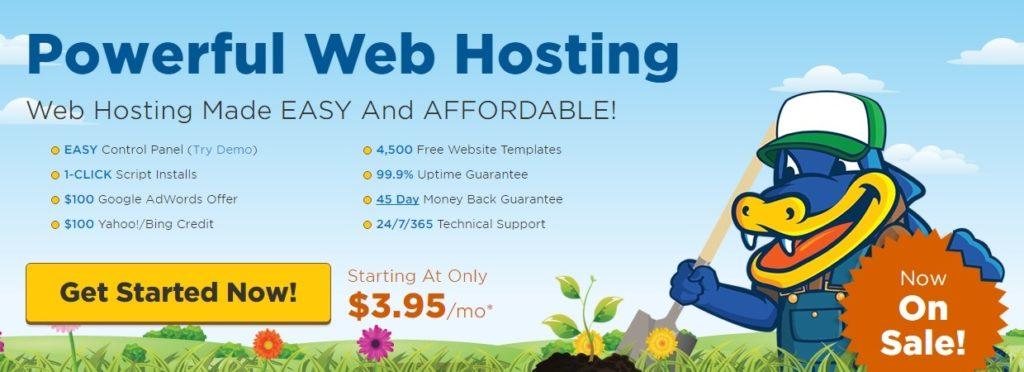 Hostgator unlimited webhosting - beste deal